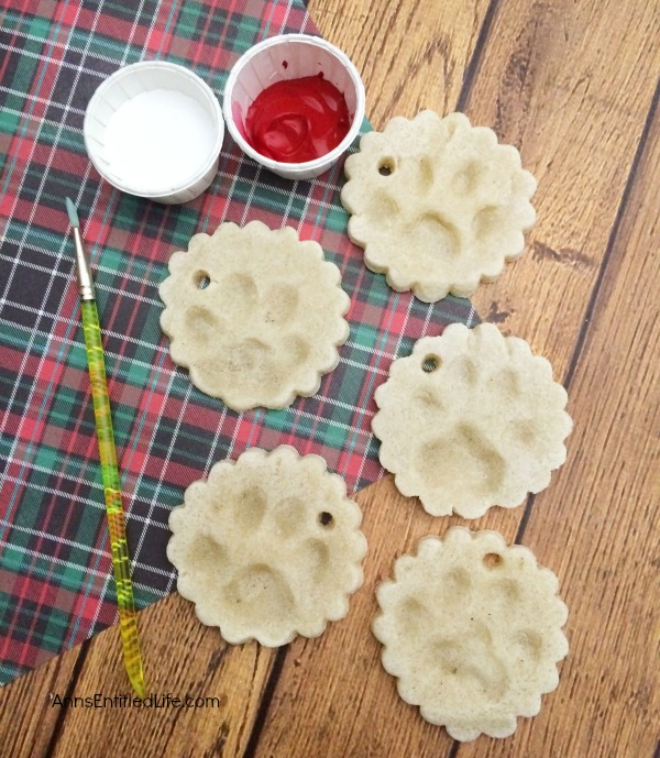Paw Print Ornaments. Make Your Own Paw Print Ornaments in just minutes, and cherish the results forever. Now you can decorate for the holidays with a paw print of your favorite pet, without an expensive paw print kit!  Follow these easy step by step directions and hold dear the memories of your furry friend for a lifetime.