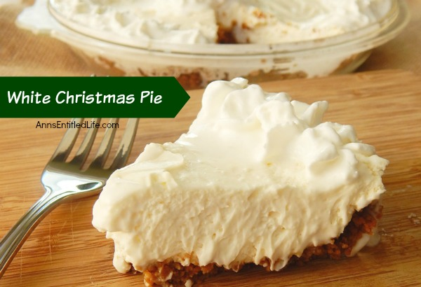 white christmas pie recipe - Christmas Pies
