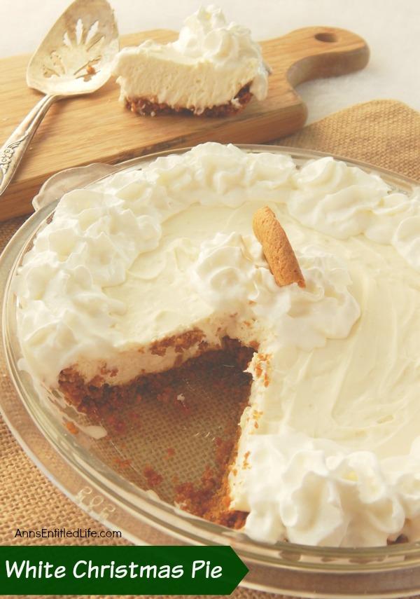 White Christmas Pie Recipe