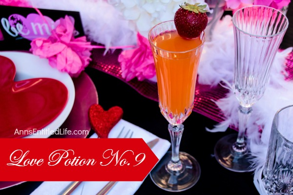 Love Potion No. 9 Cocktail Recipe. While you may not start kissing everything in sight, you will definitely develop a deep infatuation with this delightful and delicious cocktail!