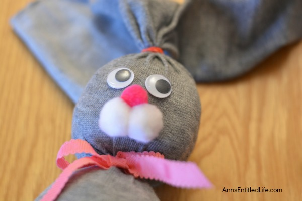 No Sew Sock Bunny. Make your own adorable no sew sock bunnies! These no sew sock bunnies  are the perfect craft for Easter. Easy to make, the no sew sock bunny will delight work well as table decor, make a cute gift and more. Versatile and highly customizable, these No Sew Sock Bunnies will delight children and adults alike.