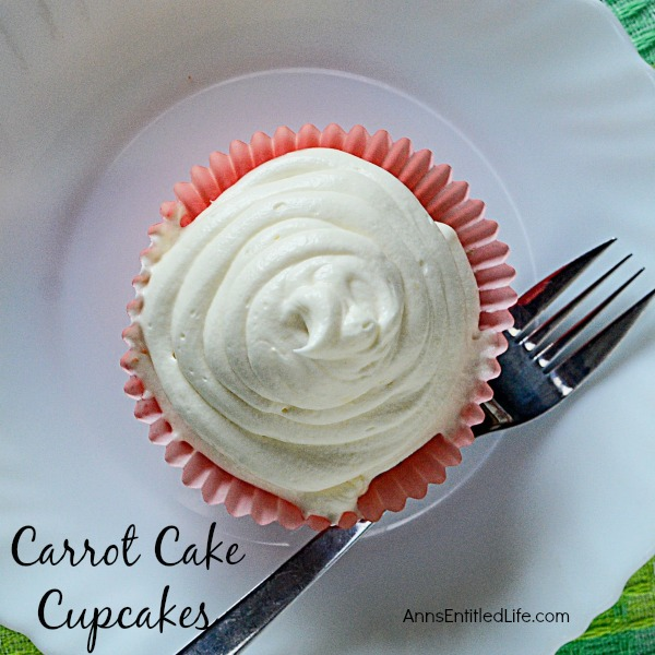 Carrot Cake Cupcakes Recipe. A moist and scrumptious carrot cake recipe. These from scratch carrot cake cupcakes are a taste of spicy deliciousness that are easy to make. Frosted or unfrosted this carrot cake recipe is simply fabulous.