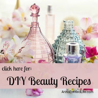 Easy DIY Beauty. Beauty Products you can make at home!
