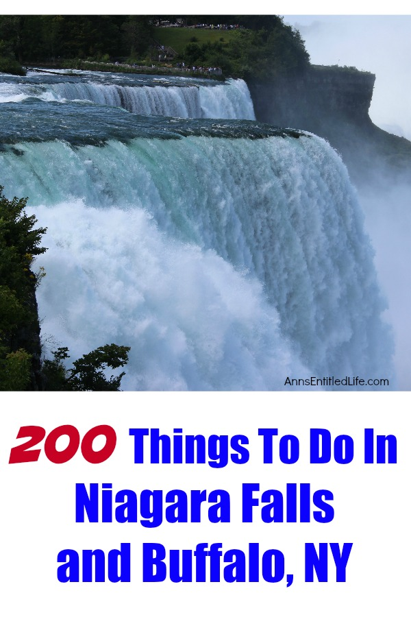 200 things to do in niagara falls and buffalo ny for Things to see and do in nyc