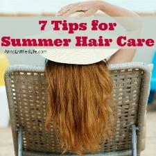 7 Tips for Summer Hair Care