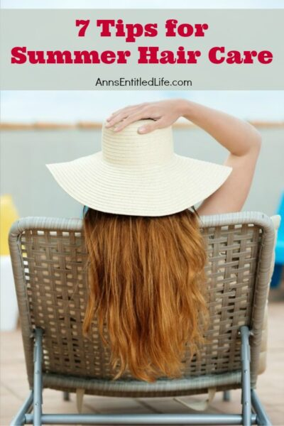 7 Tips for Summer Hair Care