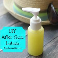 DIY After Sun Lotion