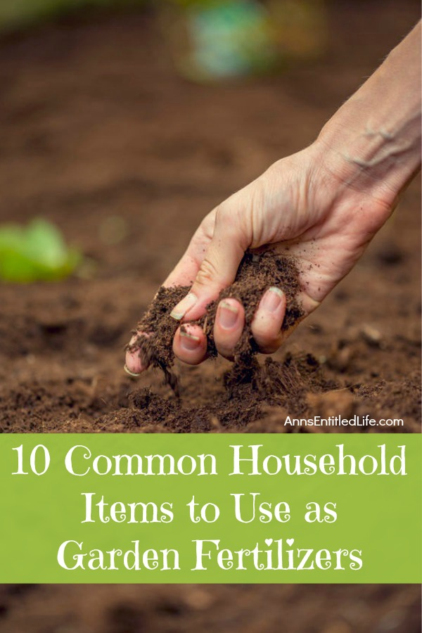 10 common household items to use as garden fertilizers verticaljpg