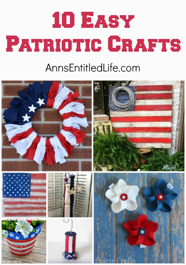 10 easy patriotic crafts for Americana crafts to make