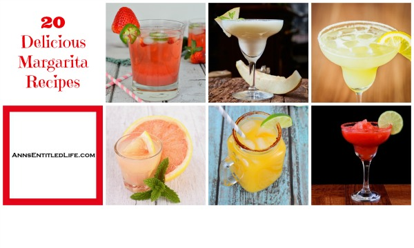 20 Delicious Margarita Recipes. Frozen, Shaken or On-the-Rocks. From raspberry to grapefruit to cucumber and more; there is a Margarita to please everyone. Instead of the traditional classic, expand your libation horizons with one of these fantastic 20 Delicious Margarita Recipes!