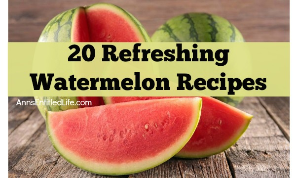 20 Refreshing Watermelon Recipes. Beat the summer heat with cool, delicious watermelon. From cocktails and milkshakes to salads and salsa, these  these 20 watermelon recipes are as versatile as they are delicious. Try out one of these refreshing watermelon recipes today.
