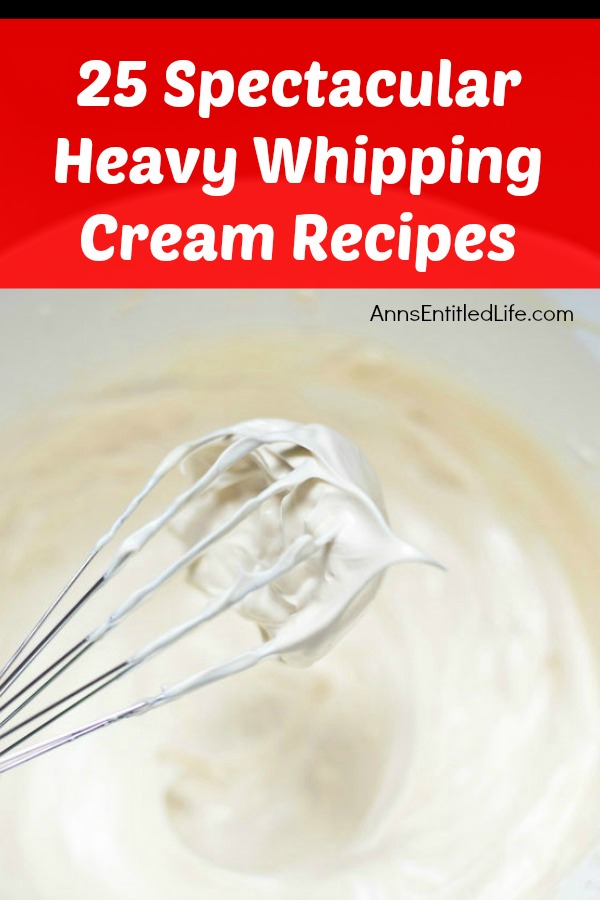 A whisk full of whipped cream at the tip, with a bowl of whipped cream below