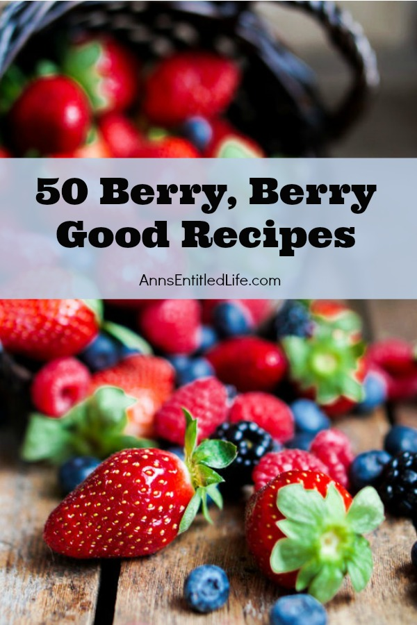 50 Berry, Berry Good Recipes. Raspberries, strawberries, blueberries and more, these fresh berries recipes are year round delicious, a nature sweet. From pies to cobblers to pancakes to frozen delights and drinks, take advantage of fresh fruit bounty, and make one of these breakfast, lunch or dinner berry good treats.