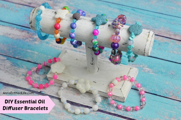 DIY Essential Oil Diffuser Bracelets. Make your own all day diffuser bracelet using this easy step by step instruction tutorial. The possibilities are endless for design and scent when you make your own essential oil diffuser bracelet. Enjoy your favorite scent all day long when you make your own DIY Essential Oil Diffuser Bracelets!