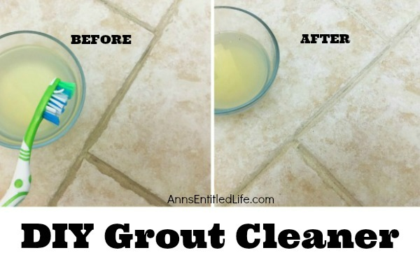 DIY Grout Cleaner. If you are tired of commercial grout cleaners that contain chemicals you cannot pronounce, why not make your own grout cleaner? For just a few pennies you can DIY a grout cleaner that really works! This simple formula made from common pantry items is easy to make when using this detailed step by step tutorial. Your grout never looked so good!