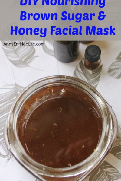 DIY Nourishing Brown Sugar and Honey Facial Mask