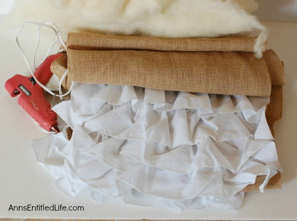 DIY Easy No Sew Throw Pillow