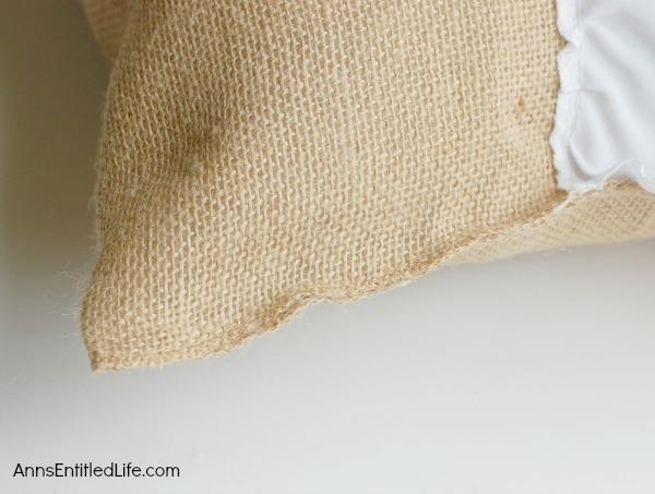 DIY Easy No Sew Throw Pillow
