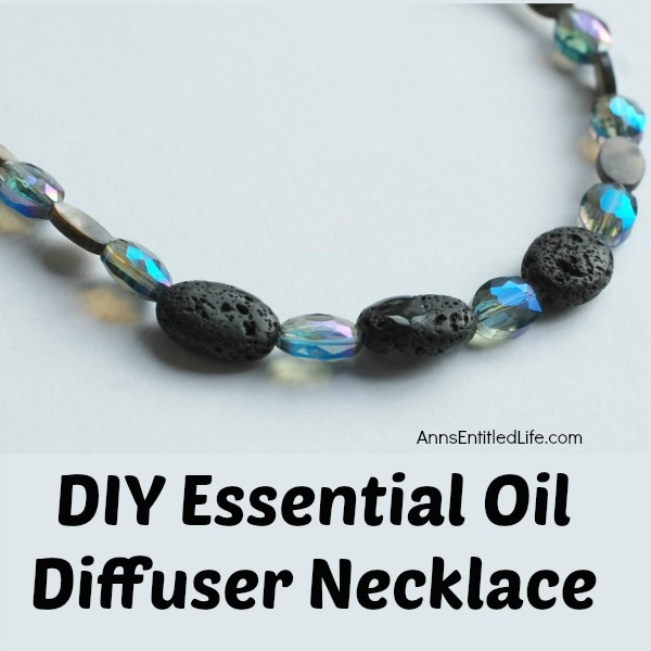 DIY Essential Oil Diffuser Necklace. Make your own all day diffuser necklace using this easy step by step instruction tutorial. The possibilities are endless for design and scent when you make your own essential oil diffuser necklace. Enjoy your favorite scent all day long when you make your own DIY Essential Oil Diffuser Necklace!
