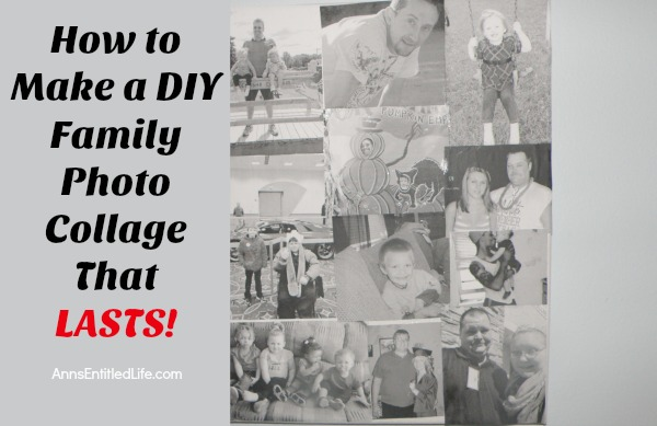 How to Make a DIY Family Photo Collage That LASTS! Want to make a lasting photo collage that tells a great story about a memorable family event?  The trip to the zoo, a wedding, a picnic or simply a lazy day in the backyard playing games and lounging poolside as family are all remarkable and important times you don't want to forget. Creating a do it yourself family photo collage that will last and last, is a wonderful way to keep those extraordinary family moments fresh.