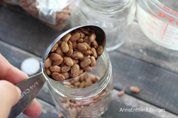 Canned Pinto Beans Recipe. Beans are nutritious, delicious, inexpensive and go with a large variety of meats and vegetables or on their own; they are the perfect pantry staple to keep on hand at all times. Make your own Canned Pinto Beans to have on hand as a side dish, or to add to your favorite recipe.