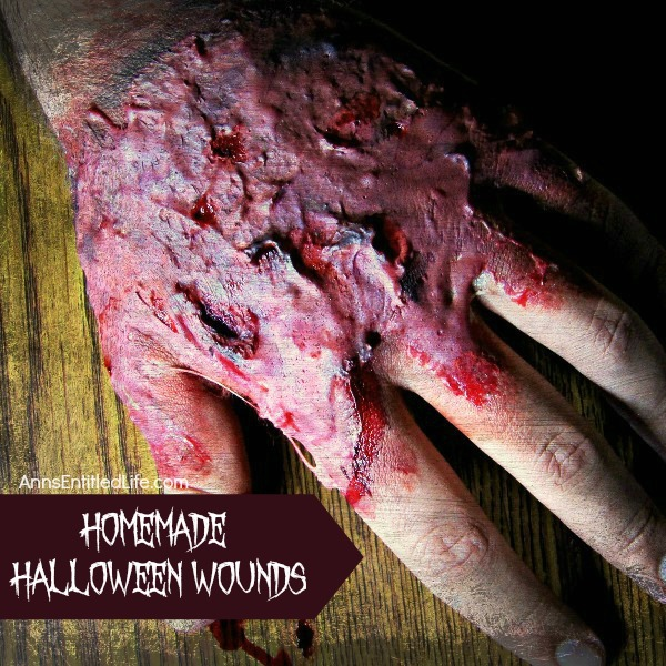 homemade halloween wounds - Halloween Fake Wounds