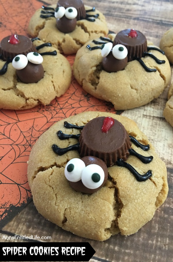 spider cookies recipe these fun and spooky spider cookies are delicious halloween treats all your