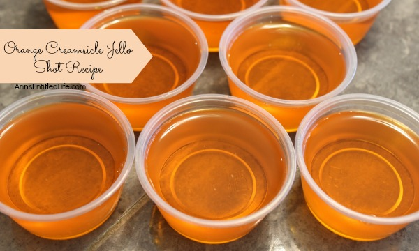 Orange Creamsicle Jello Shots Recipe. If you liked Orange Creamsicles ...