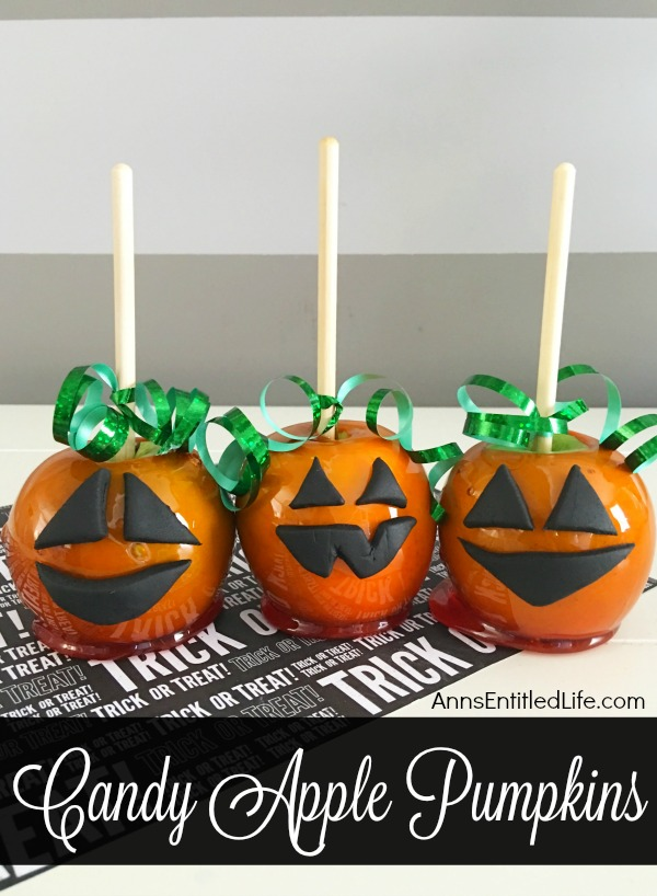 candy apple pumpkins recipe