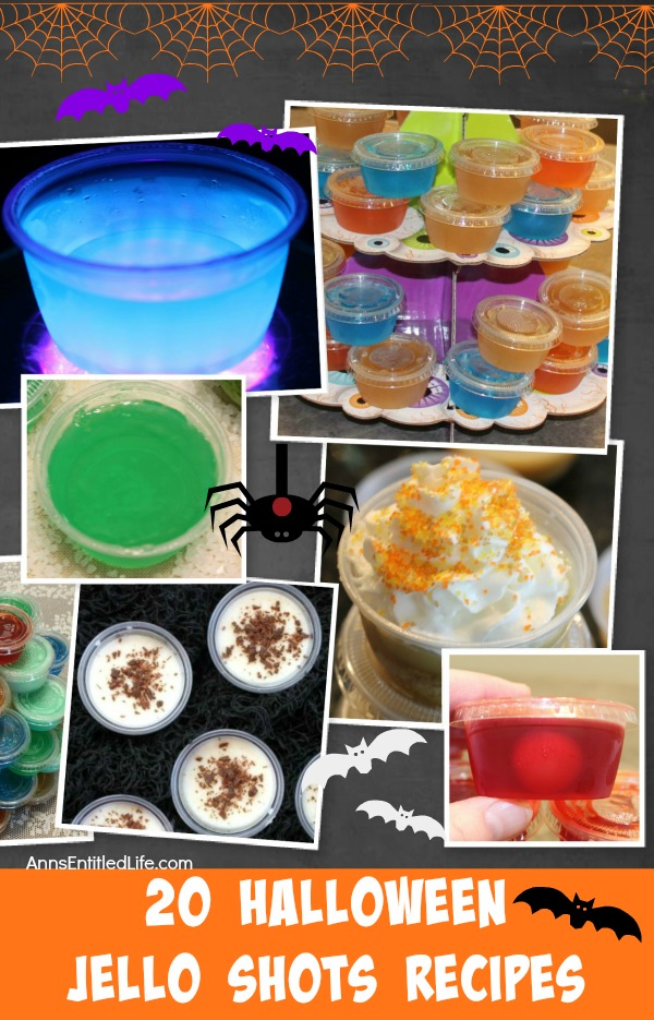 20 Halloween Jello Shots Recipes