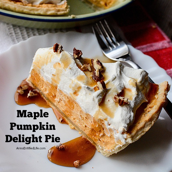 Maple Pumpkin Delight Pie Recipe