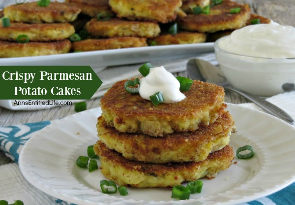 Crispy Parmesan Potato Cakes Recipe. Have leftover cooked potatoes ...