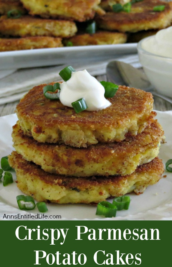 Crispy Parmesan Potato Cakes Recipe