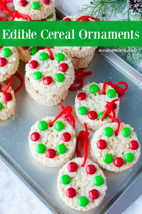 Edible cereal ornaments recipe ccuart Image collections