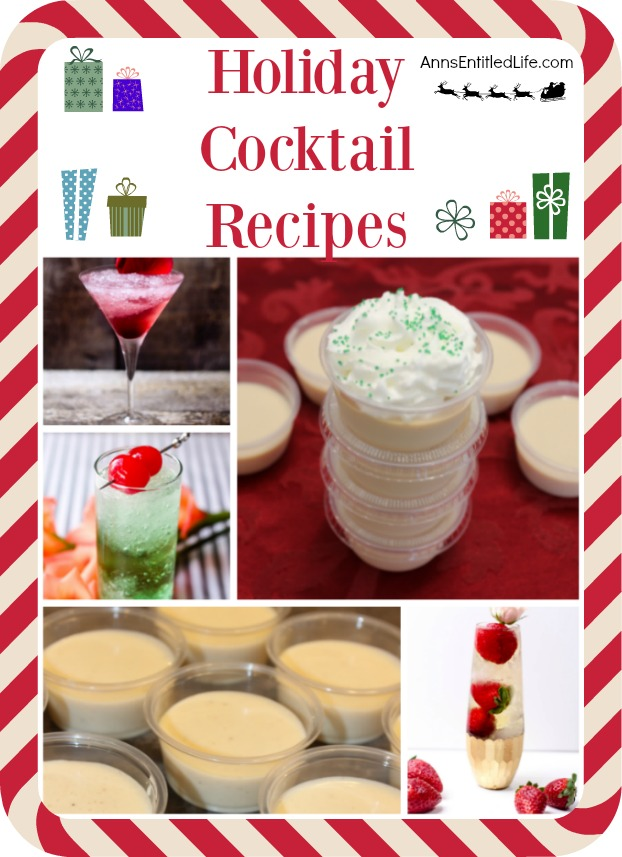 Holiday Cocktail Recipes. From frou-frou drinks to classic cocktails, from Jello shots to cocktails that really pack a wallop, there is an adult libation on this list for nearly any holiday occasion, big or small!