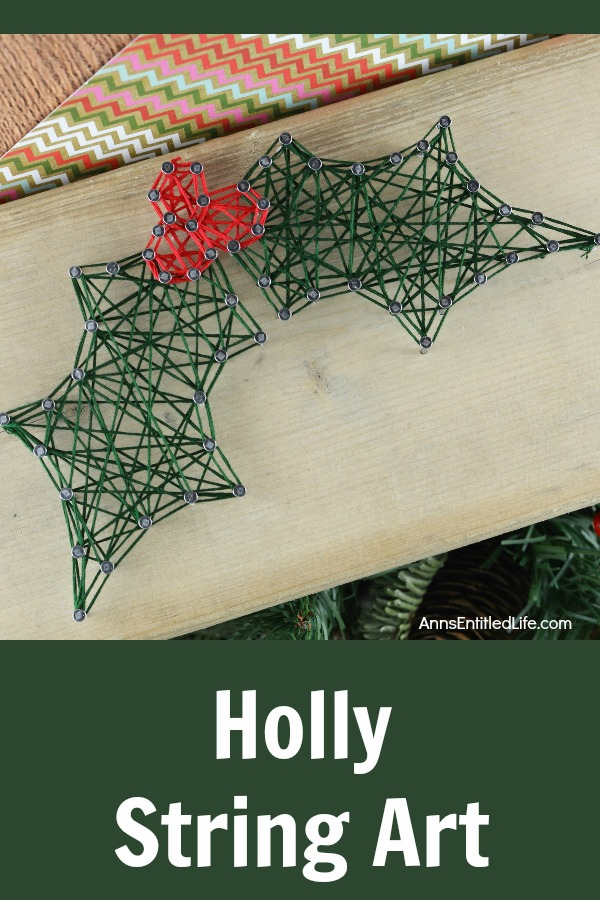 Holly berry string art solutioingenieria Images