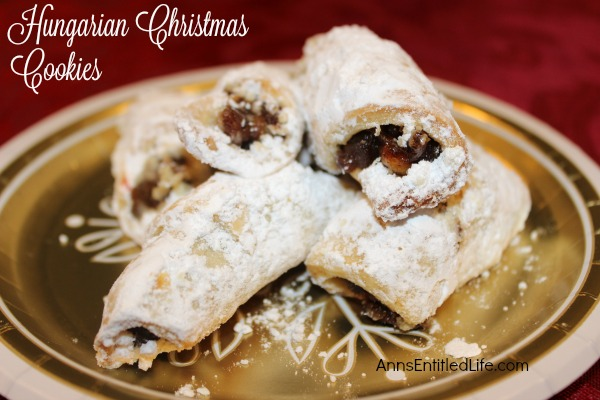 Hungarian Christmas Cookies Recipe. These traditional Hungarian Christmas Cookies from nagyanya (grandma) are simply delicious. Each bite reminds you of the old country; a time of good food and fond memories. If you are looking for old-fashioned Christmas cookies, try this Hungarian Christmas Cookies Recipe!
