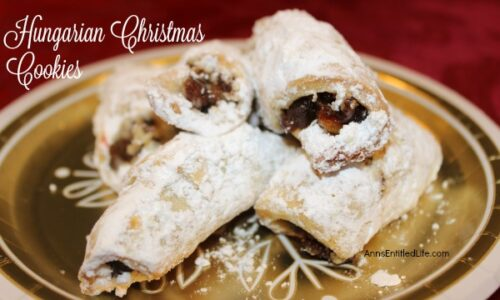 Hungarian Christmas Cookies Recipe
