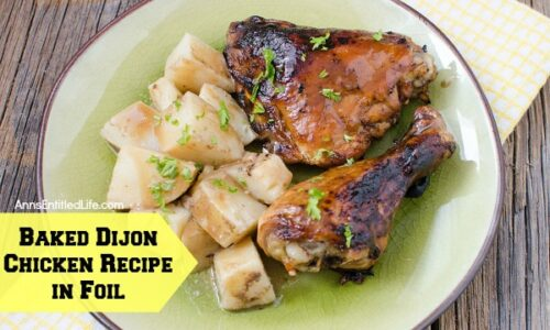 Roasted Dijon Chicken Recipe — Dishmaps