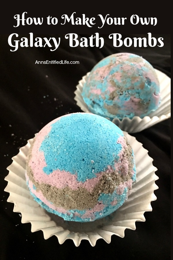 How to Make Your Own Galaxy Bath Bombs. These how to make your own galaxy bath bombs instructions are an easy to follow, step by step tutorial. If you would like to learn how to make bath bombs, simple directions will have you enjoying a wonderful soak in no time. Make these fun galaxy bath bombs today!