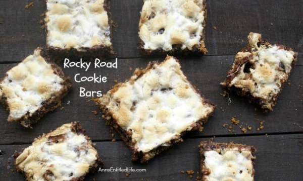 Rocky Road Cookie Bars. Made by placing layers of sweet goodness over the graham cracker crust base, this easy to make rocky road cookie bar recipe tastes a whole lot like rocky road candy. Yum! If you like rocky road candy, you will love these melt in your mouth delicious Rocky Road Cookie Bars!