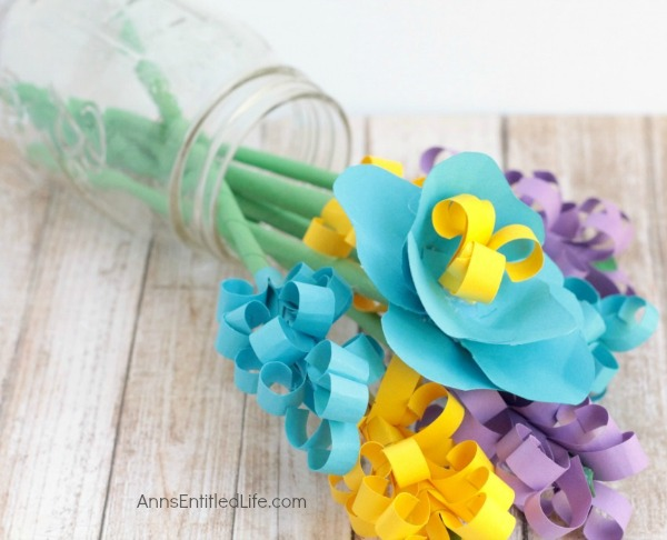paper flower bouquet instructions