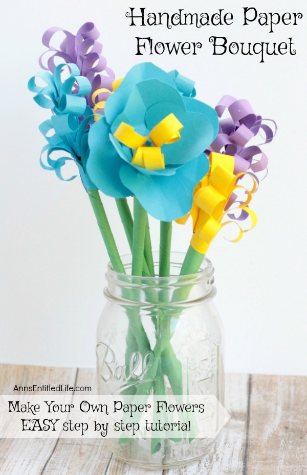 Diy Paper Flower Bouquet - All About DIY Ideas | 930x600