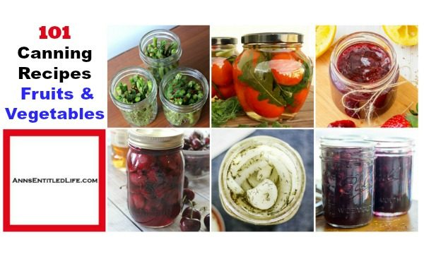 101 canning recipes for fruits and vegetables from your garden forumfinder Gallery