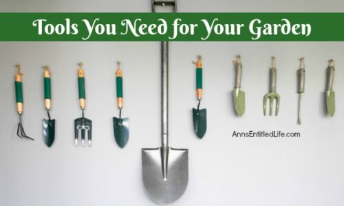 Tools you need for your garden for Gardening tools you need