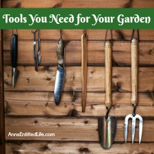How does your garden grow for Gardening tools you need