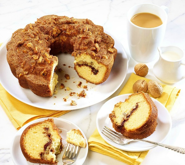 Give a Gift of Thanks with Boston Coffee Cake