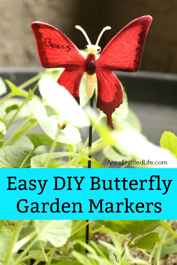 Merveilleux Easy DIY Butterfly Garden Markers. Simple To Make Garden Markers To Help  You Identify The