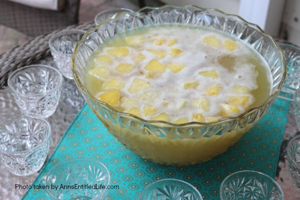 This Festive Pineapple Punch is a sweet and delicious party punch recipe that is simple to make. In just a few minutes you can have a great punch recipe that your family and guests will truly enjoy.