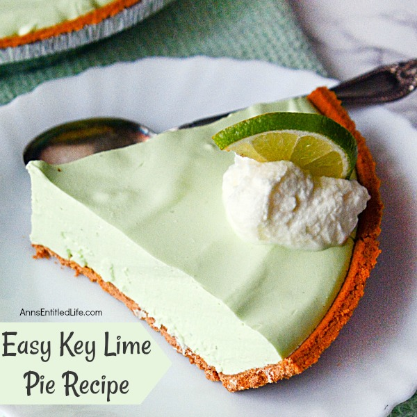 Easy Key Lime Pie Recipe. Enjoy the sweet-tart taste of key lime when you make this easy key lime pie recipe. This smooth and creamy pie comes together in minutes. Your family and friends will love this delicious dessert.